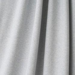 Jersey bio stretch chiné bleu/gris