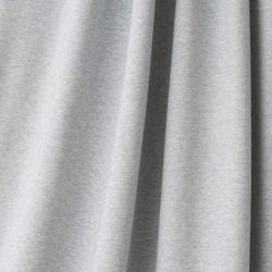 Jersey bio stretch chiné bleu/gris