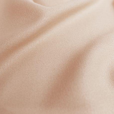 Crêpe de viscose blush