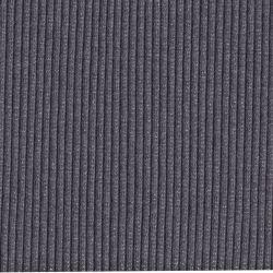 Bord-côte grosses côtes lurex gris/argent
