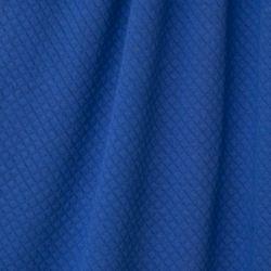 Matelassé bio bleu roi