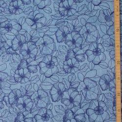 Sweat modal denimflower bleu