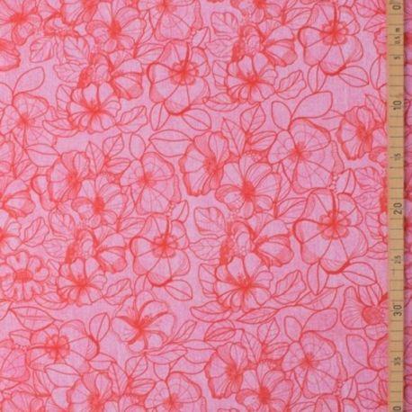 Sweat modal denimflower rouge