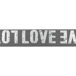 Élastique love gris