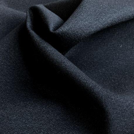 Crêpe de laine charbon