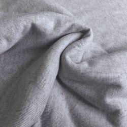 Jersey gratté gris