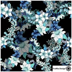 Jersey bio festoon bleu