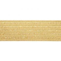 Élastique ceinture 60 mm or