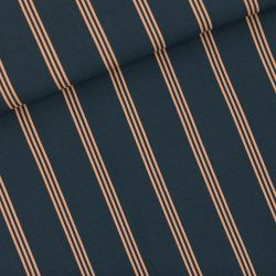 Viscose three lines peach