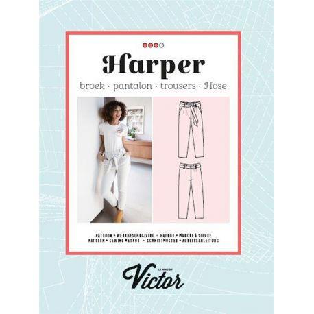 Patron pantalon Harper