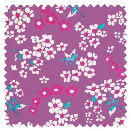 Coton hanako lilas