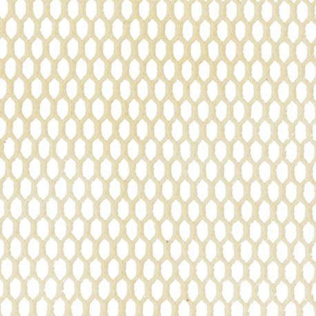 Tissu filet coton bio naturel