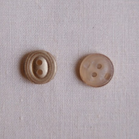 Bouton 10 mm mini or
