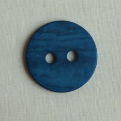 Bouton 34 mm bleu pétrole
