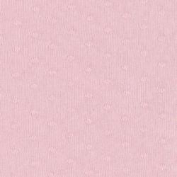Jersey plumetis blush