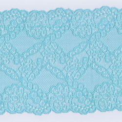 Dentelle de Calais 14,5 cm bleu glacier