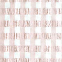 Vichy gaufré pink sand