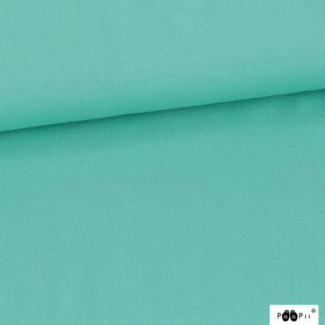 Sweat bio uni turquoise