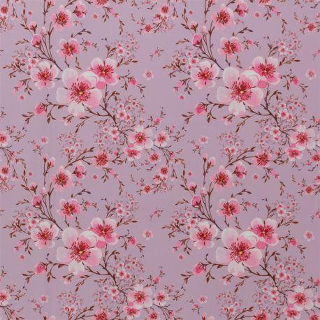 Softshell imprimé cherry blossom rose