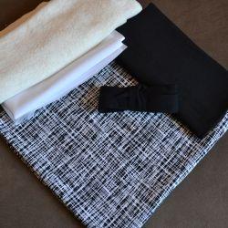 Kit Éternité Variante 1 criss-cross noir/blanc