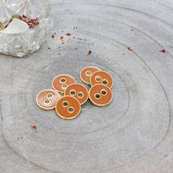 Bouton Atelier Brunette joy 12 mm chestnut