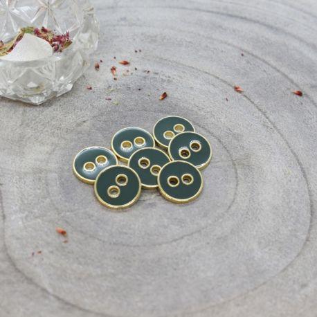 Bouton Atelier Brunette joy 12 mm cedar