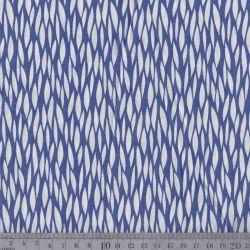 Coton baria bleu