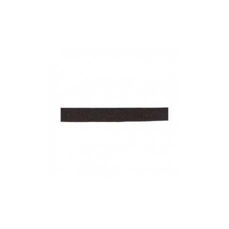 Élastique bretelles 10 mm noir satiné