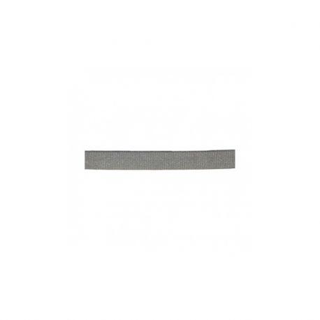 Élastique bretelles 10 mm gris satiné