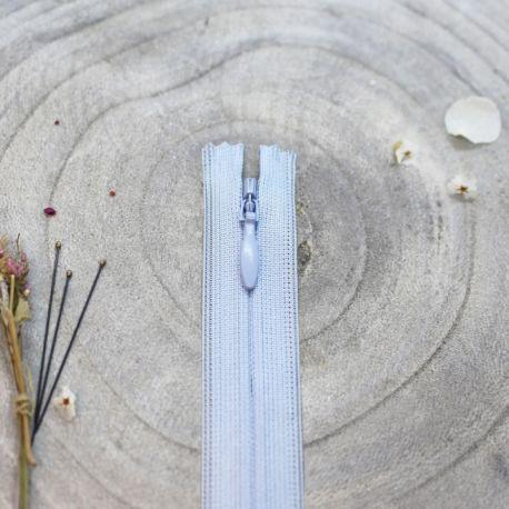 Zip invisible Atelier Brunette 20 cm blue jean