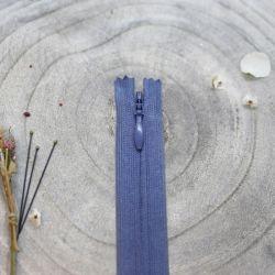 Zip invisible Atelier Brunette 40 cm cobalt