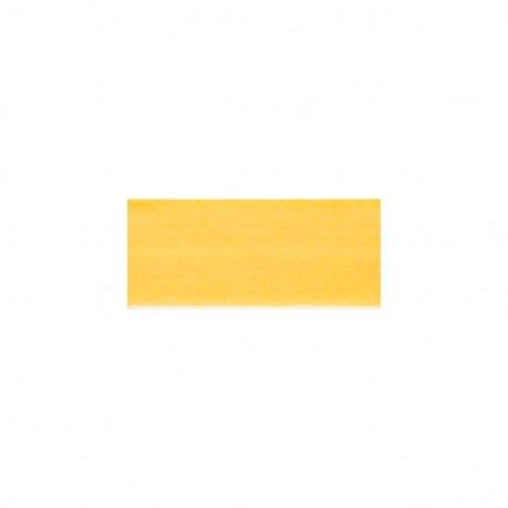 Biais élastique préplié mat jaune-20mm