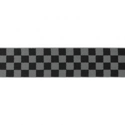 Élastique shorty damiers gris