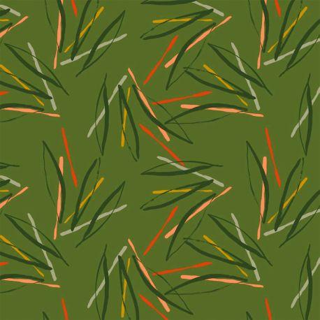 Sweat fantasy stripes vert