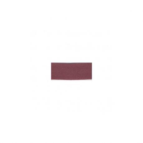Biais élastique préplié mat bordeaux-25mm