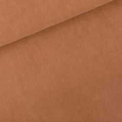 Jersey éponge brun chameau