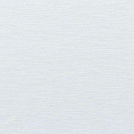Jersey flammé coton/lin blanc casse