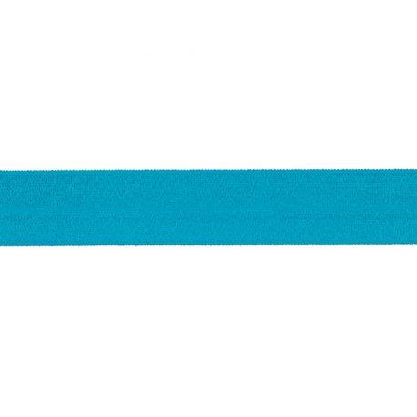 Biais élastique préplié brillant -20mm