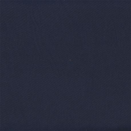 Microfibre polyester unie marine