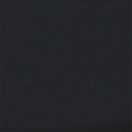Microfibre polyester unie noire