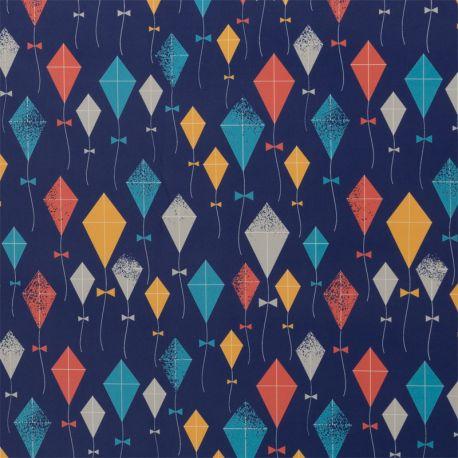 Softshell imprimé cerf-volants
