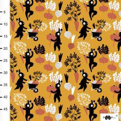 Jersey bio harvest dance ocre/rouille