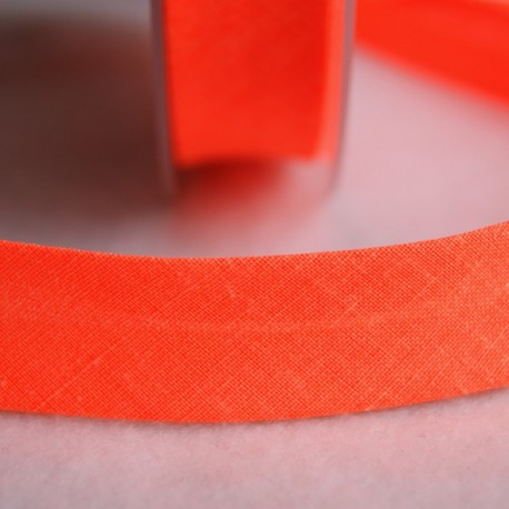 Biais fluo orange