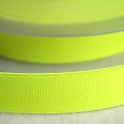 Élastique 25 mm jaune fluo