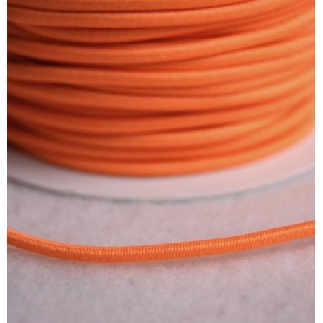 Élastique rond orange fluo