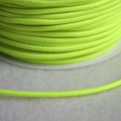 Élastique rond jaune fluo