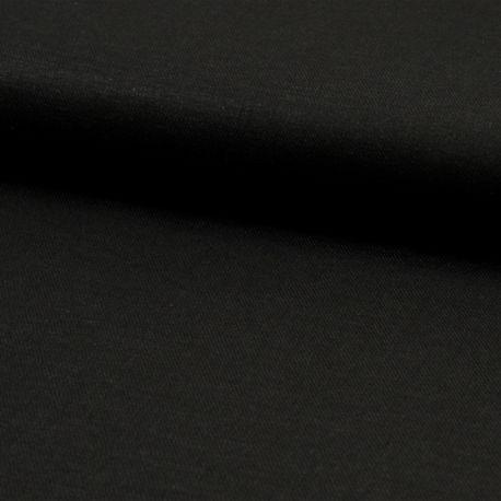 Viscose/lin uni noir