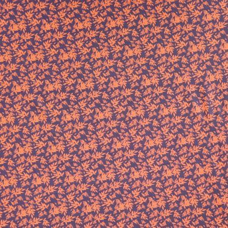 Molleton polly flower rouille/anthracite