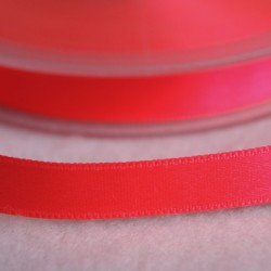Ruban satin 15 mm rose fluo
