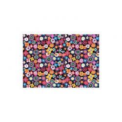 Coton fiesta multicolore